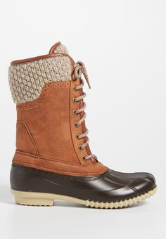 http://rubies.work/0192-ruby-rings/ Natalie duck boot with knit cuff