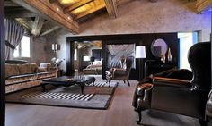 Hotel Le Lana, Courchevel 1850 - Luxury defined in the Prestige Suite Courchevel 1850, Luxury Travel, Luxury Hotels, Table, Furniture, Home Decor, France, Simple, Decoration Home