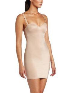 9d51db0647 Heavenly Shapewear Women s Molded Cup Control Slip Bodysuit