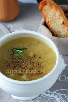 Zuppa di cipolle e patate Pasta, Ethnic Recipes, Kitchen, Food, Love, Cooking, Kitchens, Essen, Meals