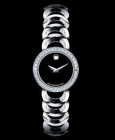 Beautiful Diamond Swiss Movado Watch