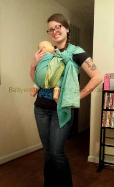 Babywearing International of Hampton Roads: Carry of the Month: Semi Front Wrap Cross Carry