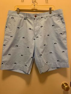 b9efb05541 NWT TOMMY HILFIGER Embroidered Lt Blue shirts/Bermudas -Scooters Size  Condition is New with tags.