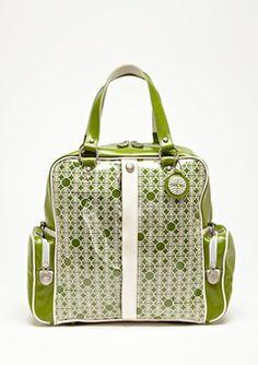 Pan Am Lime 70's Bag $79