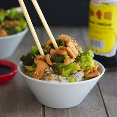 Chinese Chicken and Broccoli (Low Carb & Gluten-Free) - A perfectly healthy and delicious weeknight meal!