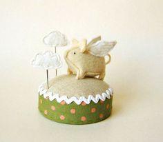 Flying Pig Pincushion