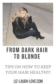 Tips on how to keep your hair healthy when BLEACHED! Blonde Asian Hair, Healthy Blonde Hair, Bleach Blonde Hair, Dark Blonde Hair, Blone Hair, Blonde Tips, Bleaching Your Hair, Bleached Hair, Hair Transformation