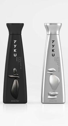 Tyku Sake packaging by Established