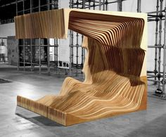 NADAAA is a Boston-based architecture and urban design firm led by principal designer Nader Tehrani, in collaboration with partner Katherine Faulkner. Art Furniture, Urban Furniture, Street Furniture, Furniture Design, Parametrisches Design, Design Firms, Architecture Design, Architecture Diagrams, Architecture Portfolio