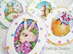 Easter egg picture tags