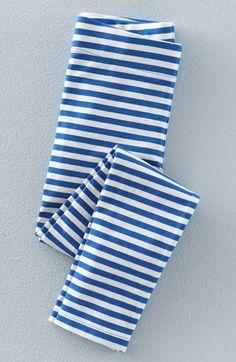 Mini Boden Print Stretch Cotton Leggings (Toddler Girls, Little Girls & Big Girls)
