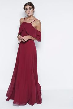 Por veronica far Bridesmaid Dresses, Prom Dresses, Formal Dresses, Wedding Dresses, Formal Wear, Beautiful Dresses, Evening Dresses, Party Dress, Chiffon