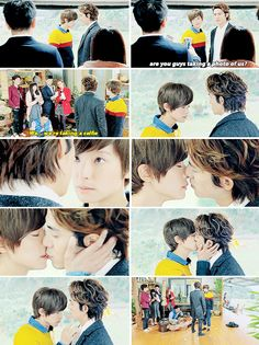 """""""If the both of you gets picked again for the third round, you'll have to kiss"""" Bromance #taiwanese #drama"""