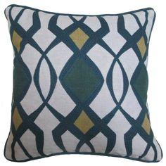 Found it at Wayfair - Theda Cotton-Linen Throw Pillow