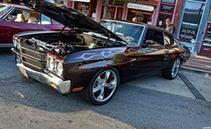 1970 Chevrolet Chevelle SS...hell yeah minus the flames and some  better rims