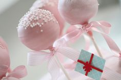 Passion 4 baking » Cake Pops  Making these for my daughters christening :) Mmm..