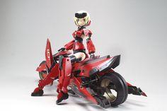 shink-ai Frame Arms Girl フレームアームズ・ガール Gourai custom | TumbNation
