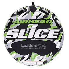 Airhead New OEM Inflatable 2-Person Green Super Slice Deck Tube, 253-AHSSL-22