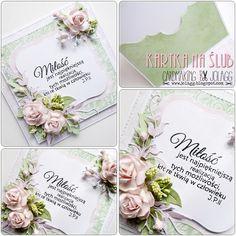 Cardmaking by jolagg: Kartka na ślub