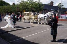 Video: https://youtu.be/Md_Bkj9pK6c  The #SouthWales #Wedding Reception entrance of Derek & Becky on the 9th May 2015 :-) Tunes: Cwm Rhondda & Flower of Scotland