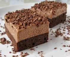 Czech Desserts, Sweet Desserts, Sweet Recipes, Delicious Desserts, Cake Recipes, Yummy Food, Mini Cheesecakes, Special Recipes, Food Cakes