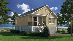 Sea Isle of Coastal Living Collection - Excel Modular Homes