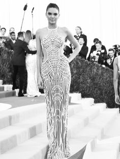 Met Gala 2016: A Black-and-White Look at the Night's Most Magical Moments | People - Kendall Jenner