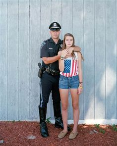 "Richard Renaldi's ""Touching Strangers"" Nathan and Robyn, 2012, Provincetown, Mass."