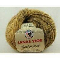 Νήμα για πλέξιμο Lanas Stop Kaippo Σύνθεση: 55% ΜΑΛΛΙ, 45% ΑΚΡΥΛΙΚΟ Μήκος: 135 m Βάρος: 100 gr Βελόνες Νο. 8-9 Χρώμα: 278   Τα μεταφορικά έξοδ