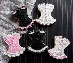 Cutest cookies ever!! Can you imagine these at a lingerie shower?