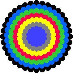 free scalloped circles cut file