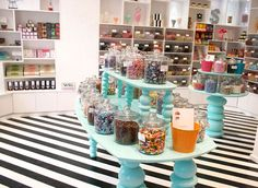 CANDY! and even more, candy stores with amazing design <3
