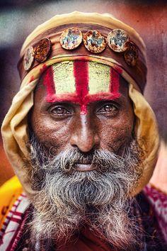 Baba in Pushkar, India