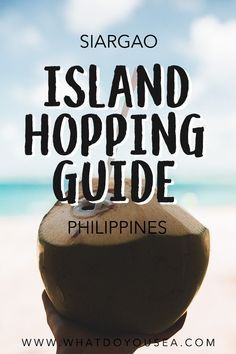 Island hopping on Siargao Island is one of the most essential things you need to do while traveling The Philippines. From the colorful reefs, white sand, fresh coconuts, and clear water, you'll feel like you've landed yourself right in a tropical dreamlan Travel Guides, Travel Tips, Travel Destinations, Travel Advice, Travel Photos, Asia Travel, Vietnam Travel, Spain Travel, Siargao Island