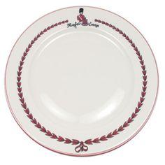 """Vintage Mayfair Luncheon 9-1/2"""" D--I once had high tea at the Mayfair."""