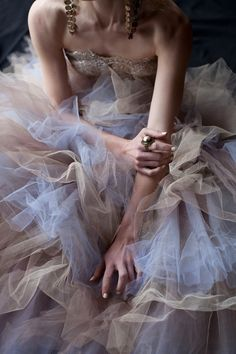 Drowning in tulle