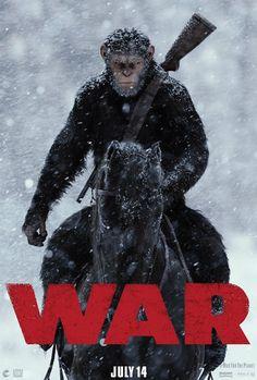 Das erste Poster zu Planet der Affen: Survival