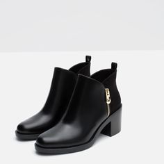 COMBINED ANKLE BOOTS-View all-SHOES-WOMAN   ZARA United States