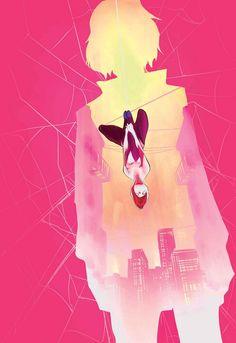 SPIDER-GWEN ANNUAL #1 JASON LATOUR (w) • CHRIS BRUNNER, CHRIS VISIONS & JASON LATOUR (a) Cover by ROBBI RODRIGUEZ