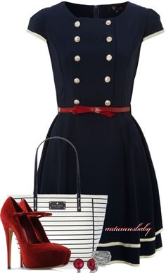 """Ahoy!"" by autumnsbaby on Polyvore"