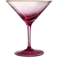 Waterford Rebel Rebel Martini Glass - Pink ($43) ❤ liked on Polyvore featuring home, kitchen & dining, drinkware, pink, pink martini glass, martini cocktail glasses, martini glasses, martini glass and colored martini glasses
