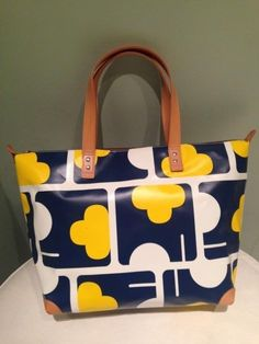 Orla Kiely Elephant Maze Tarpaulin Tilly Bag Orig. $146.00 in Clothing, Shoes & Accessories, Clothing, Shoes & Accessories | eBay
