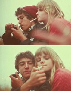 Love it-- minus the cigarette, have a joint instead.
