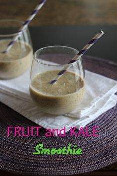 Fruit & Kale Smoothie