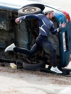 Age of Ultron set pics