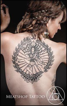 The Dancing Lord Shiva tattoo by Meatshop-Tattoo.deviantart.com on @deviantART