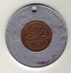 """Canada """"Lucky Penny"""" Coin - 1947"""
