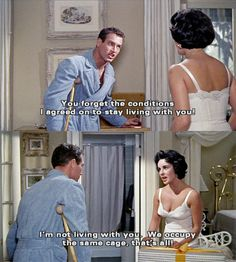 cat on a hot tin roof quotes Paul Newman and Elizabeth Taylor are perfection…