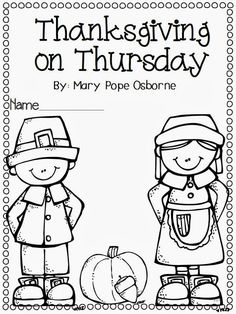 Thanksgiving on Thursday - Chapter by chapter comprehension guide