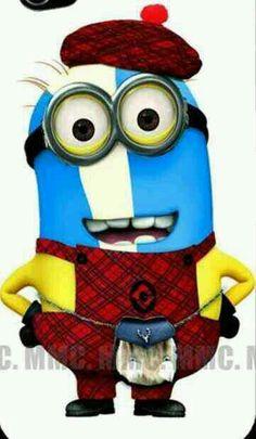 Scottish Minion